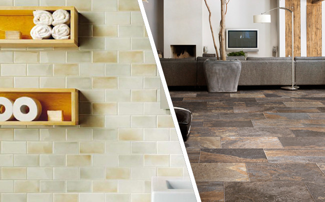 A Close Glance At Ceramic And Porcelain Tiles